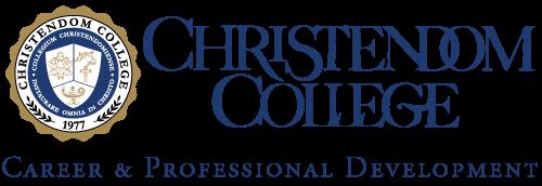 Career Development   Christendom College